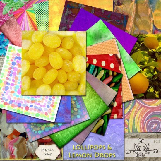 Lollipops And Lemon Drops Full Kit - Click Image to Close