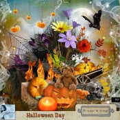 Halloween Day Kit (PU) by Louise L