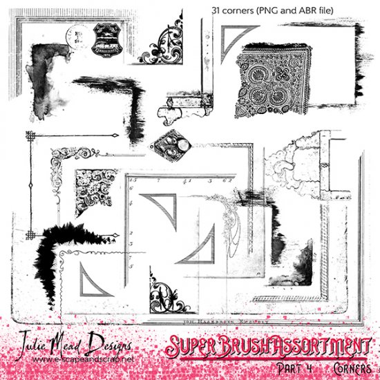 The Super Brush Assortment Collection Parts 1-4 - Click Image to Close