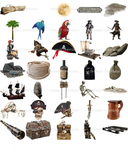 Pirates of the Faraway Sea - Page Kit - Click Image to Close