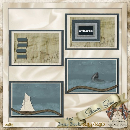 Stormy Seas 4x6 Brag Book - Click Image to Close