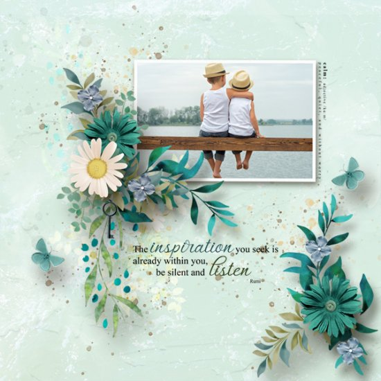 Creative Calm and Quiet Add on Collection - Click Image to Close