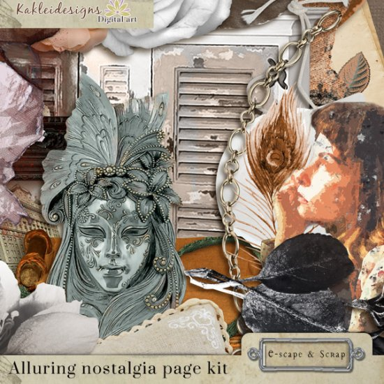 Alluring Nostalgia Page kit - Click Image to Close