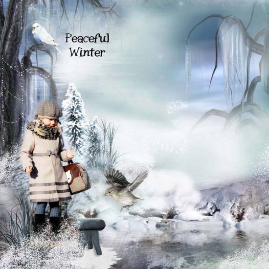 Peaceful Winter XL Bundle with Gift - Click Image to Close