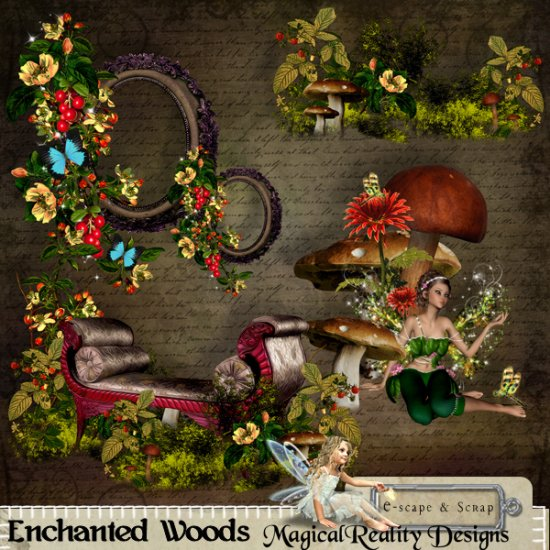 Enchanted Woods Collection - Click Image to Close