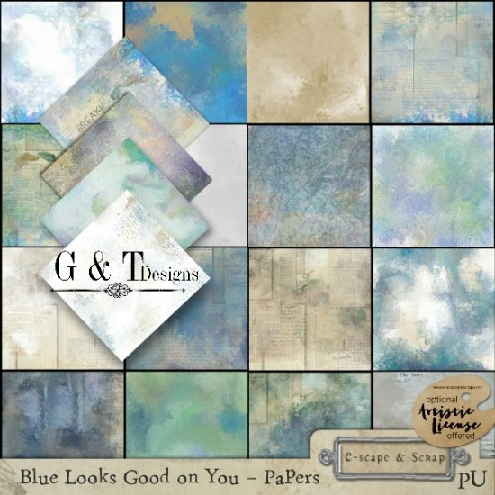 G & T DESIGNS BLUE LOOKS GOOD ON YOU - Click Image to Close