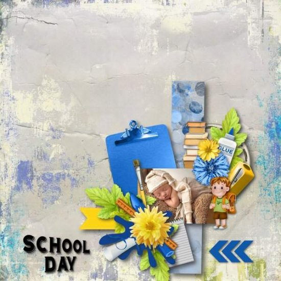 School Day Kit PU by Louise L - Click Image to Close
