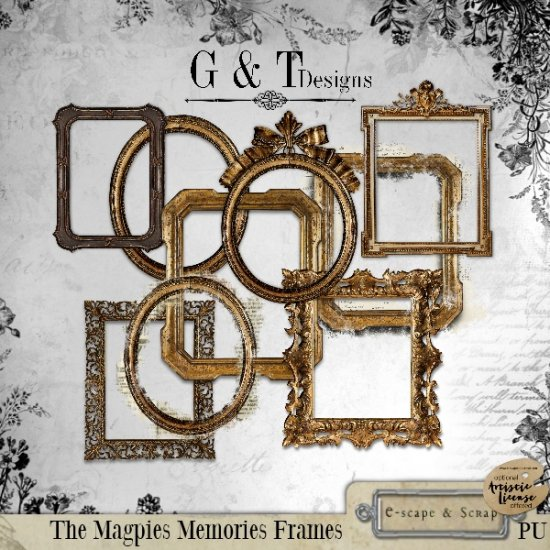 G & T DESIGNS THE MAGPIES MEMORIES RE-RELEASED - Click Image to Close