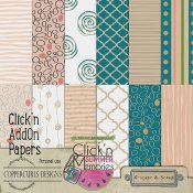 Click'n Summer Papers Coppercurls Designs