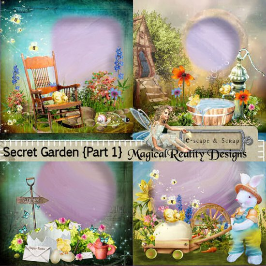 Secret Garden Part 1 XL Bundle - Click Image to Close