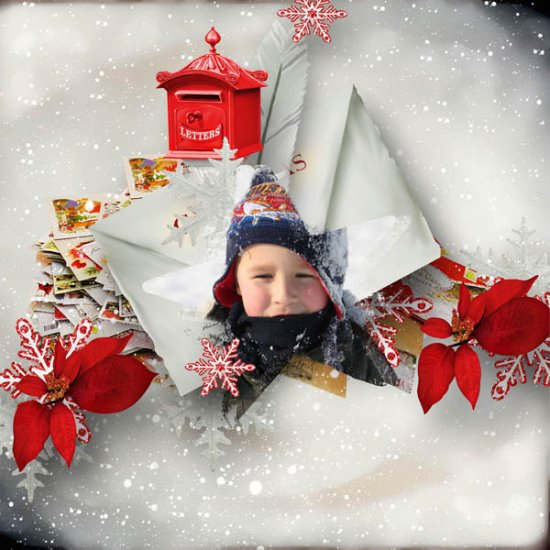 Lettre Au Pere Noel (PU) by KittyScrap - Click Image to Close
