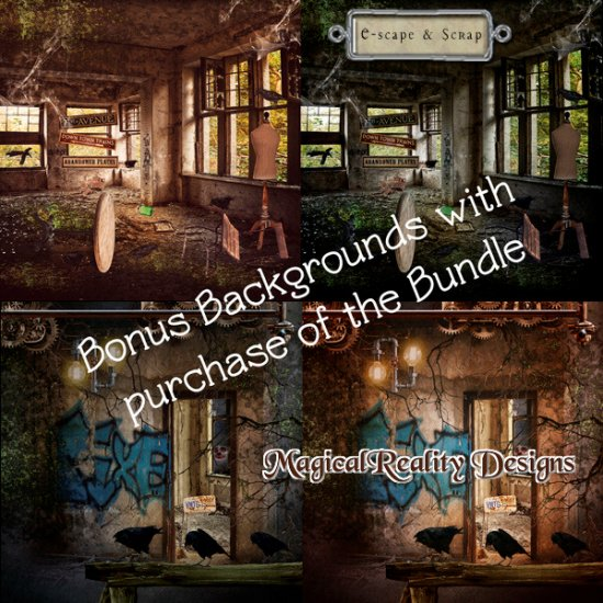 Abandoned Places XXL MEGA Bundle With Bonus - Click Image to Close