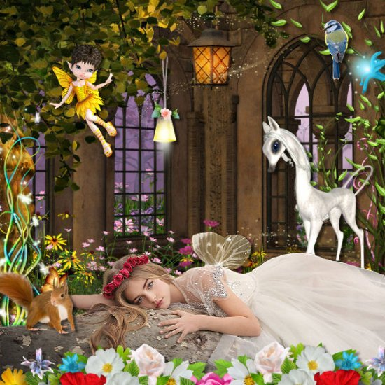 The world of fairies Kit (PU) by Louise L - Click Image to Close