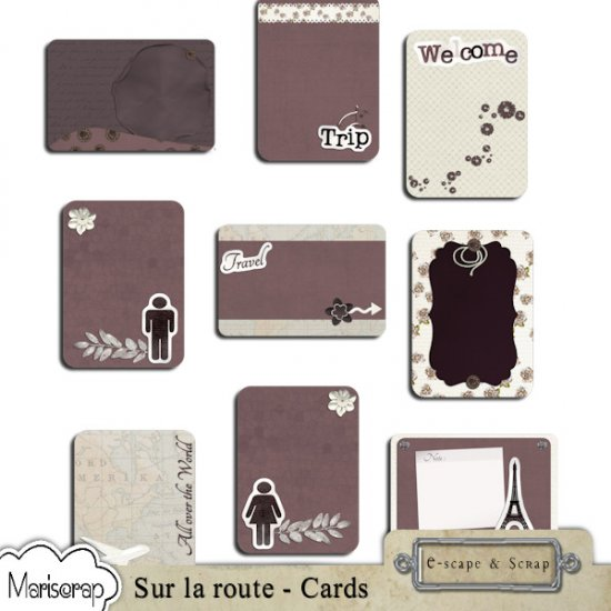Sur la route - bundle de Mariscrap - Click Image to Close