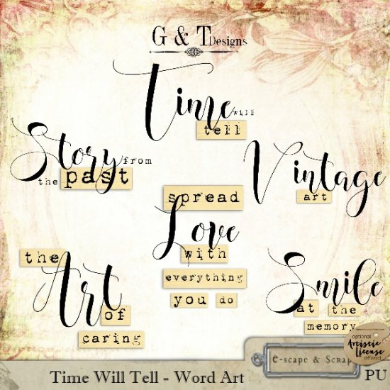 Time Will Tell - Click Image to Close