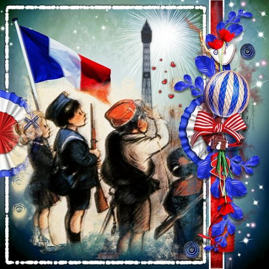 14 Juillet a Paris (PU) by KittyScrap - Click Image to Close