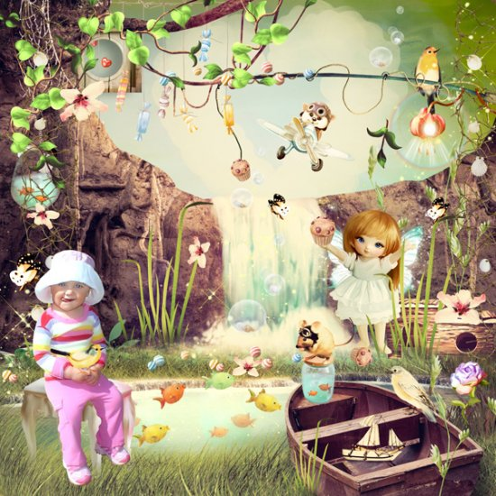 Sweet Little Fairy Tale Bundle - Click Image to Close