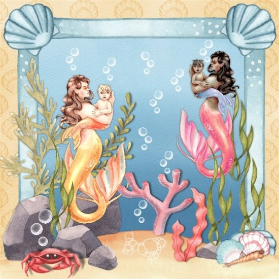 Under the Sea by Lauren C. Waterworth - Click Image to Close