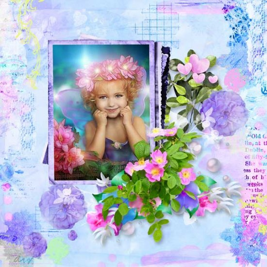 Fairy Day Kit PU by Louise L - Click Image to Close