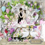 Notre Mariage Kit (PU) by Louise L