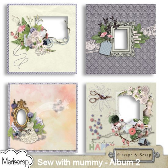 Sew with mummy - Bundle de Mariscrap - Click Image to Close