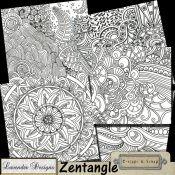 Zentangle Backgrounds