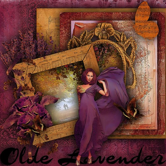 Olde Lavender - Click Image to Close