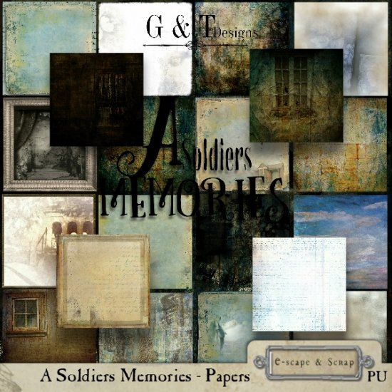 G & T DESIGNS A SOLDIERS MEMORIES RE-RELEASE - Click Image to Close