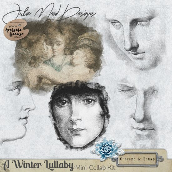 A Winter Lullaby Mini Kit Collaboration - Click Image to Close