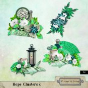 Hope Clusters 2 (PU) by Louise L