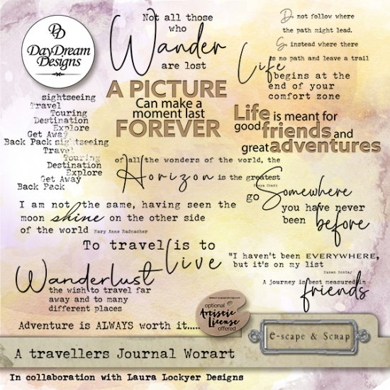 A Travellers Journal Collection - Click Image to Close