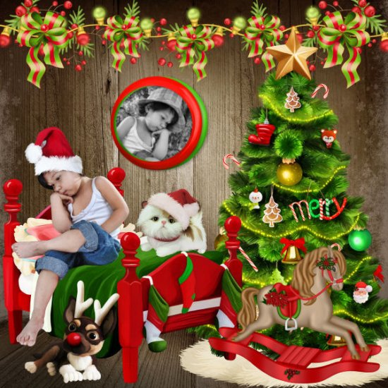 A cute christmas by Scrap'Angie - Click Image to Close
