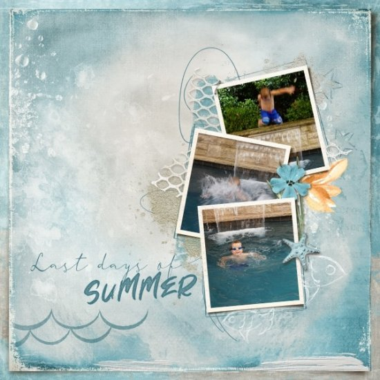 Summer End - Kit - Click Image to Close