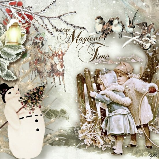 G & T DESIGNS A WINTER'S TALE MEGA KIT - Click Image to Close