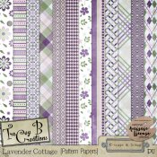 Lavender Cottage - Pattern Papers