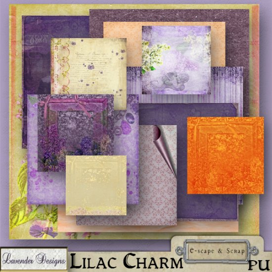Lilac Charm - Click Image to Close
