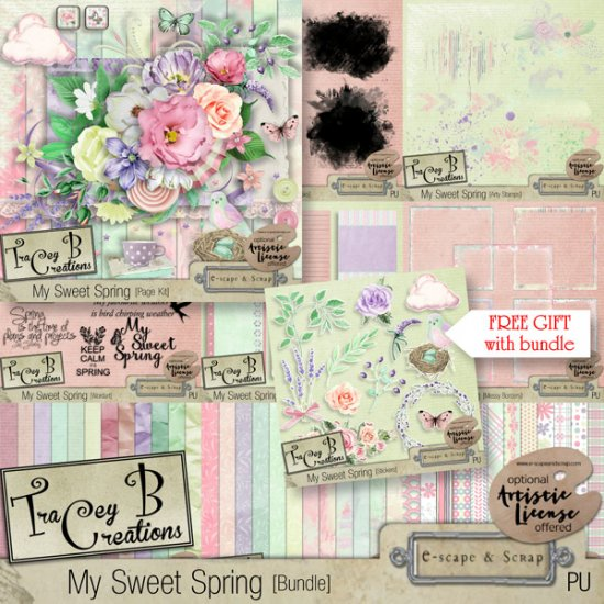 My Sweet Spring - Stickers - Click Image to Close