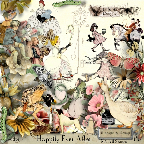 G & T DESIGNS HAPPILY EVER AFTER
