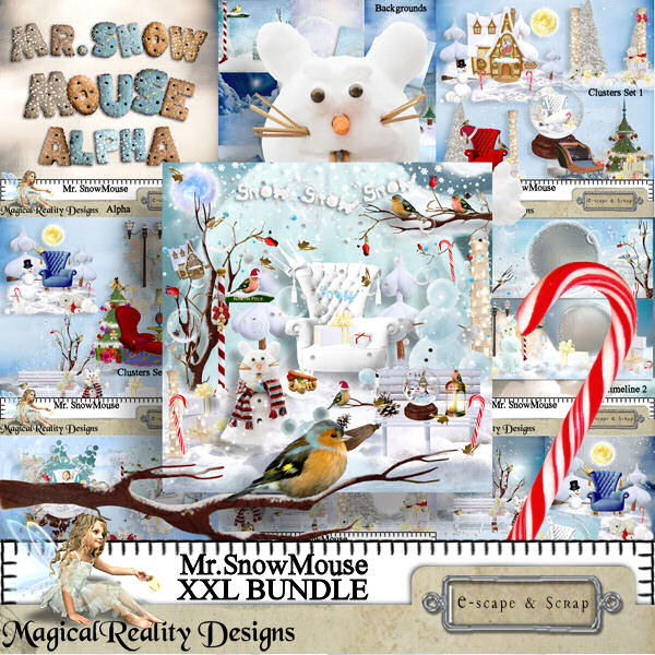 Mr SnowMouse XXL BUNDLE