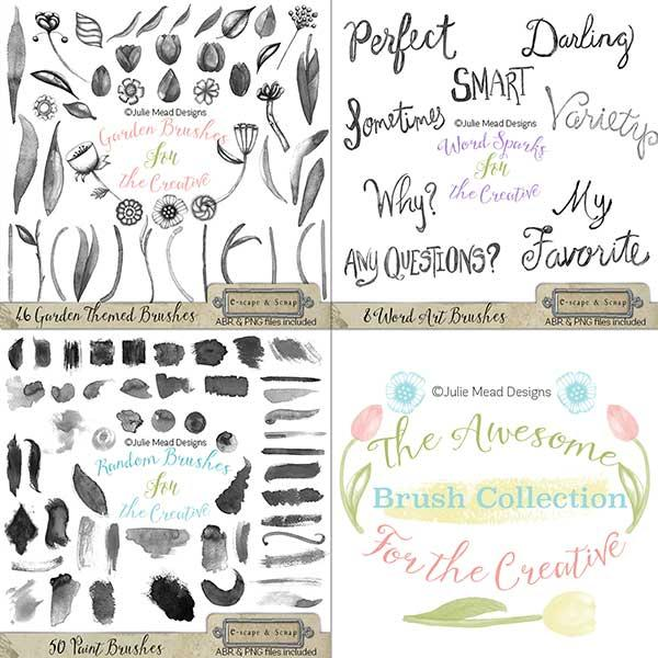 The Awesome Brush Collection for the Creative