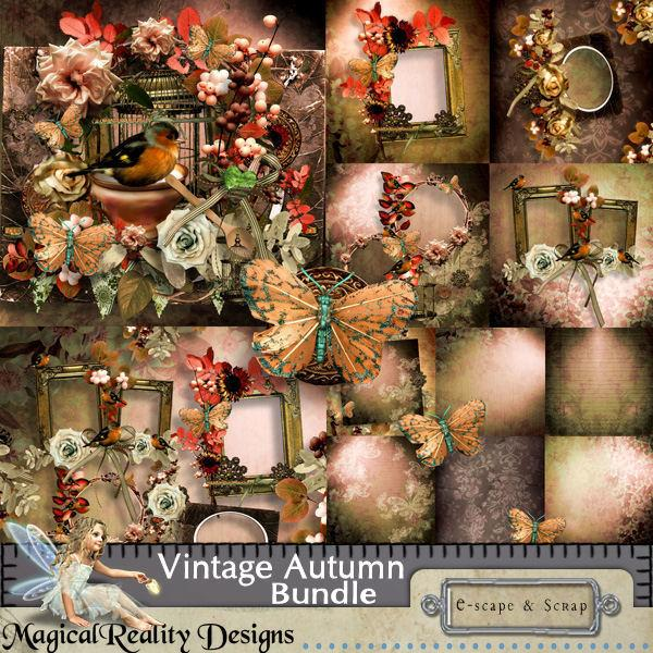 Vintage Autumn Bundle