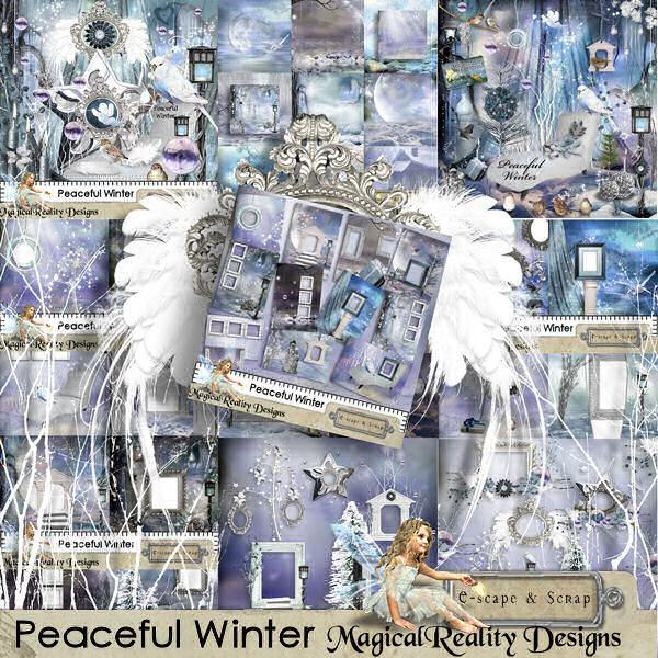 Peaceful Winter XL Bundle with Gift