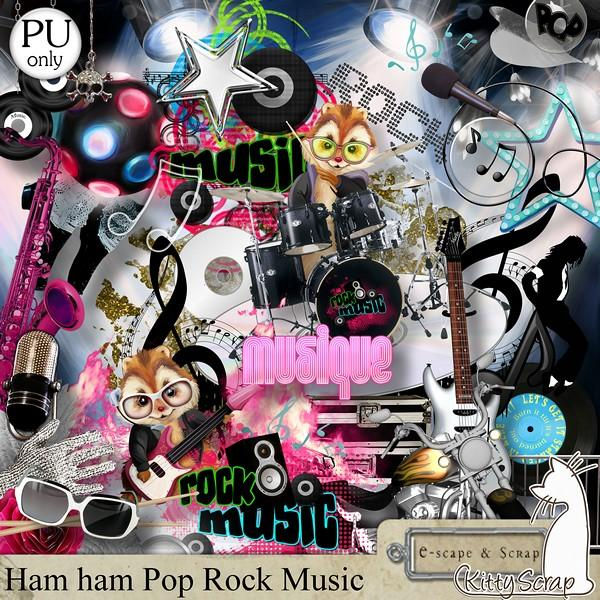 HamHam Pop Rock Music