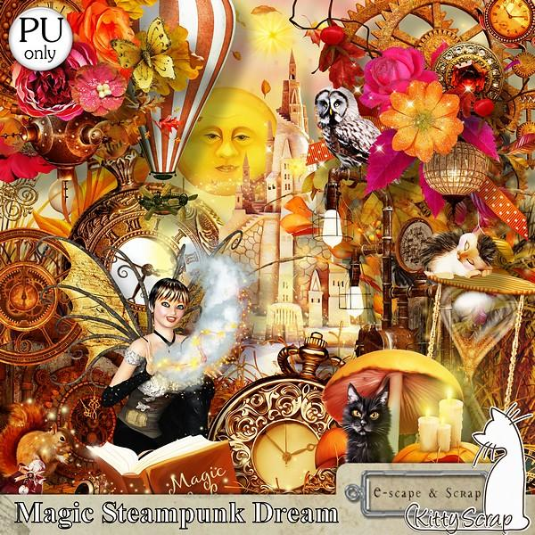 Magic Steampunk Dream