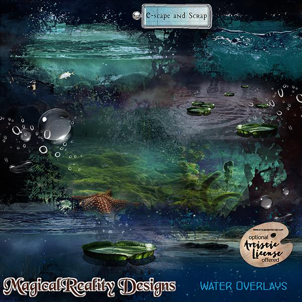 Water Overlays by MagicalReality Designs