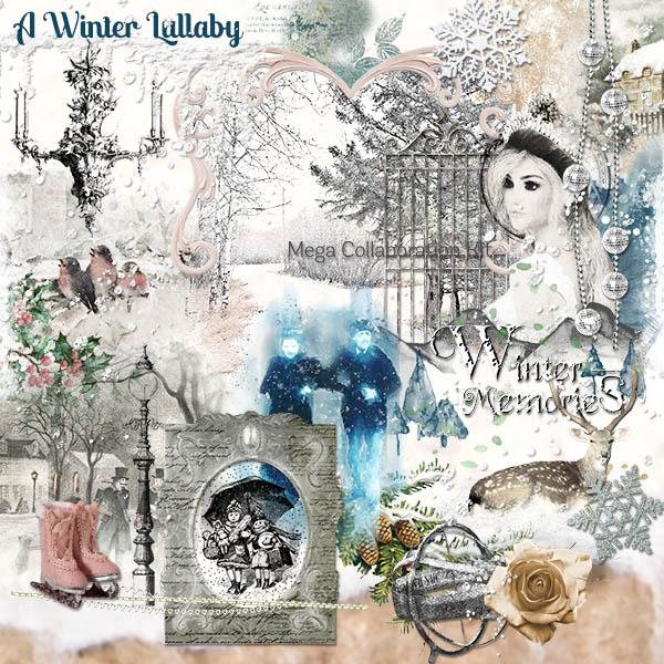 A Winter Lullaby Mega Kit Collaboration