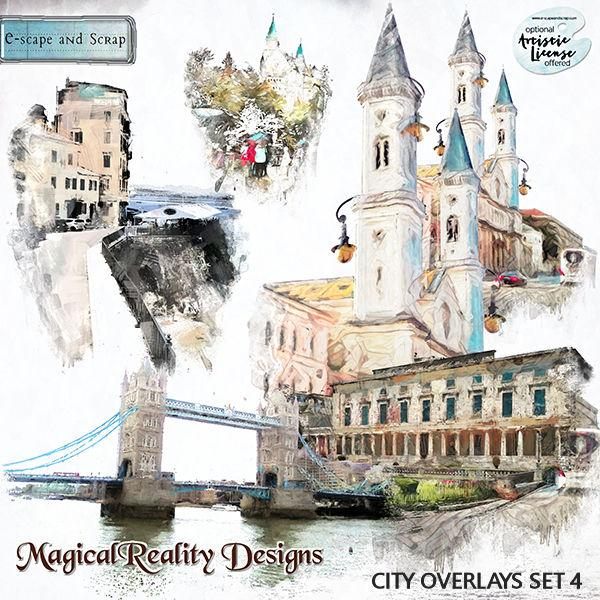 City Overlays Set 4