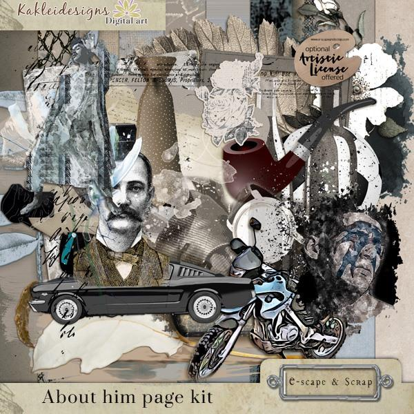 About him Page kit