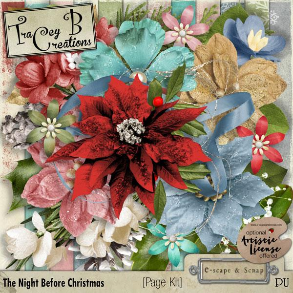 The Night Before Christmas - Page Kit