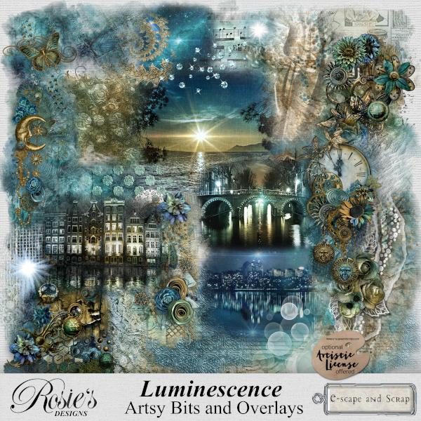 Luminescence Artsy Bits and Overlays